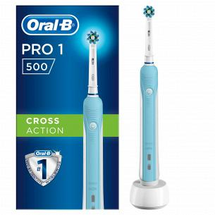 Электрическая зубная щетка ORAL-B Cross Action Pro 1 500/D16.513.1U типу 3756