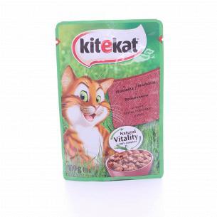 Корм для котов Kitekat...