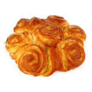 Пирог Букет крем с изюмом