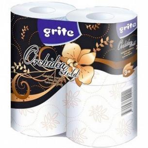 Бумага туалетная Grite Orchidea Gold