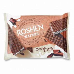 Вафлі Roshen Wafers какао-молоко