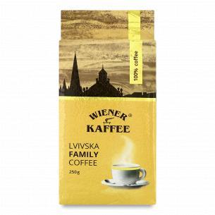 Кофе молотый Віденська кава Lvivska family coffee