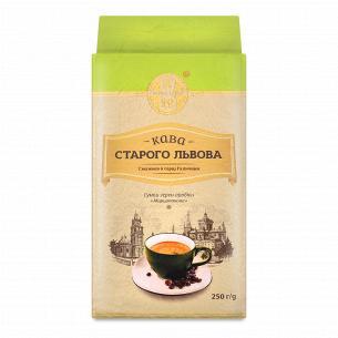 Кофе молотый Кава Старого Львова Марципановый жареный