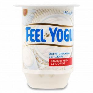 Йогурт Feel the yogurt Ніжний 3,5%