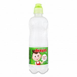 Вода дитяча питна Аквуля спеціальна пробка