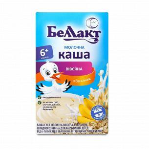 Каша овсяная Беллакт молочная сухая с бананом