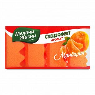Губки кухонные Мелочи Жизни Спецэффект с ароматом мандарина