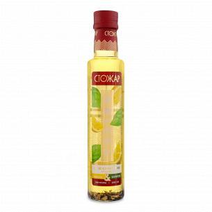 Масло кунжутное СтоЖар Fusion купаж Лимон&Базилик