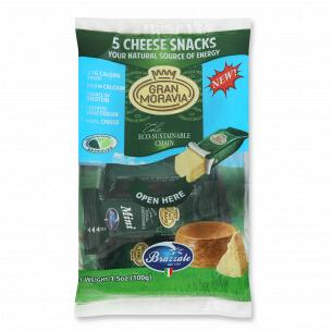 Снеки сирні Gran Moravia 32% з коров`ячого молока