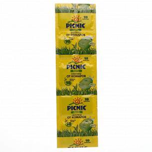 Пластини від комарів Picnic...