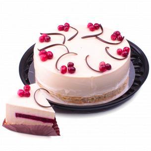 Торт Чіз-Кейк малиновий