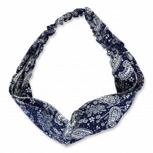 Пов`язка на голову текстильна жіноча в асортименті 26х26см