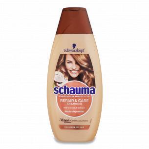 Шампунь Schauma Восстановление и уход