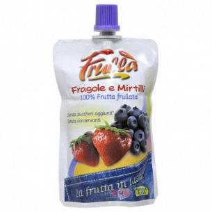 Пюре фруктовое Frulla клубника-черника без сахара, без консервантов