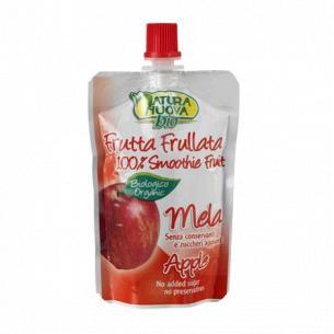 Пюре фрукт Natura Nuova яблоко без сахара органическое