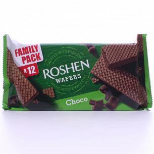 Вафлі Roshen Wafers шоколад