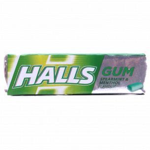 Резинка жевательная Halls мята
