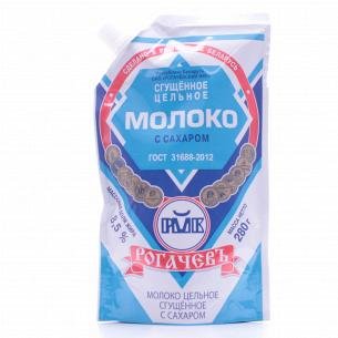 Молоко сгущенное Рогачевъ...