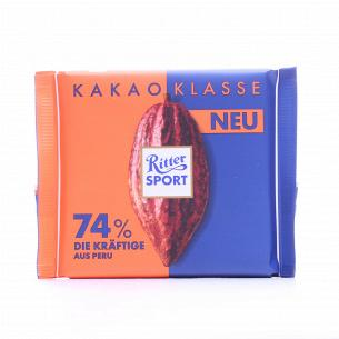 Шоколад чорний Ritter Sport...