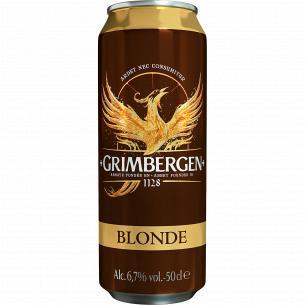 Пиво Grimbergen Blonde...