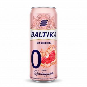 Пиво Балтика 0 грейпфрут...