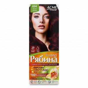 Краска для волос Acme Color Avena Рябина +Anti-Age 034 Дикая вишня