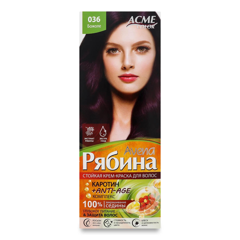 Краска для волос Acme Color Avena Рябина +Anti-Age 036 Божоле