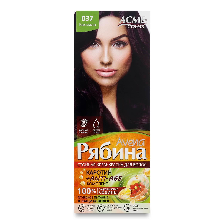 Краска для волос Acme Color Avena Рябина +Anti-Age 037 Баклажан