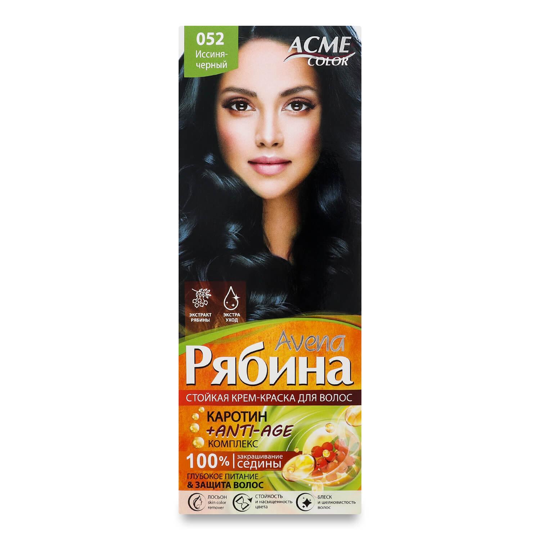 Краска для волос Acme Color Avena Рябина +Anti-Age 052 Иссиня-черный