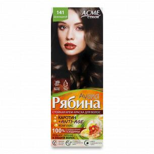 Краска для волос Acme Color Avena Рябина +Anti-Age 141 Шоколадный