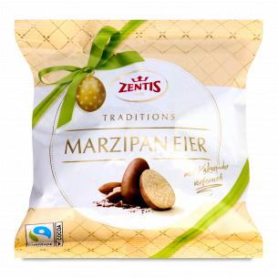 Конфеты Zentis из марципана в какао-порошке