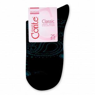 Носки женские Conte Elegant Classic 7С22 черные р.25 200