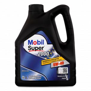 Масло моторне Mobil Super 2000 X3 5W-40