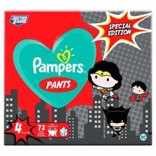 Підгузки-трусики Pampers Pants Special Edition Розмір 4 (9-15 кг), 72 шт
