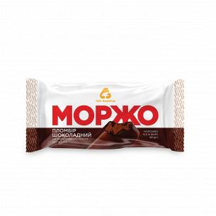 Мороженое Три ведмеді Моржо пломбир шоколадный