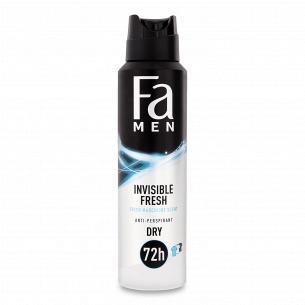 Дезодорант-спрей Fa Men Invisible Fresh