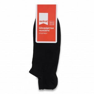 Шкарпетки чоловічі Extra! сітка чешка чорні р.29-31