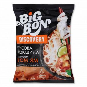 Лапша Big Bon Discover рисовая по-тайски Том Ям