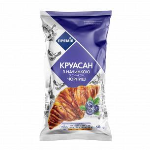Круасан Премія з начинкою зі смаком чорниці