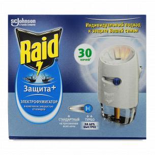 Фумігатор Raid Dual Air Захист + 30 ночей
