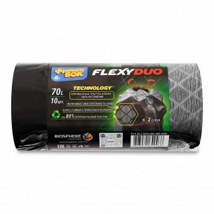 Пакеты для мусора Фрекен Бок Flexyduo c затяжками70л