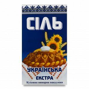 """Соль """"ССК Слов`янська"""" Экстра кухонная вакуумная"""