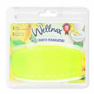 Освежитель воздуха для туалета и ванны Wellnax Лимон