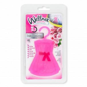 Саші ароматичне для шафи Wellnax Роза