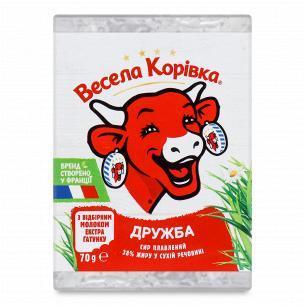 Сыр плавленый Весела корівка Дружба 38%
