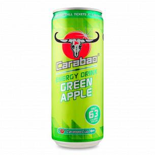 Напиток энергетический Carabao Green Apple безалкогольный