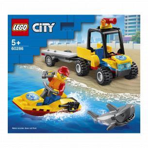 Конструктор Lego City Вездеход пляжных спасателей 60286