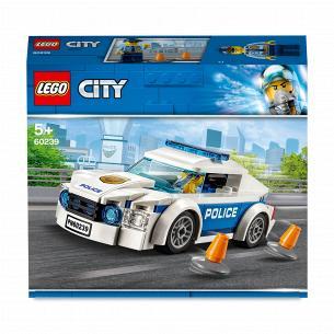 Конструктор Lego City Полицейское патрульное авто 60239