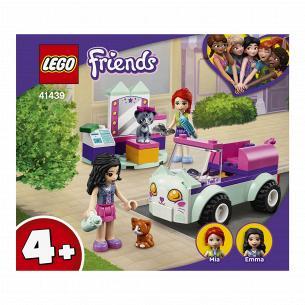 Конструктор Lego Friends Авто парикмахера для котов 41439