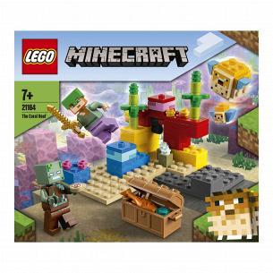 Конструктор Lego Minecraft Коралловый риф 21164